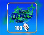 Bonus Deuces Wild 100 Hand