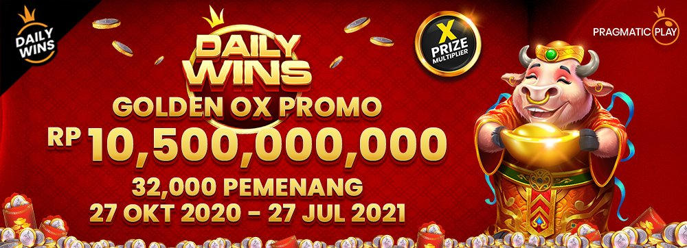 PP Daily Wins - Golden Ox Fortune